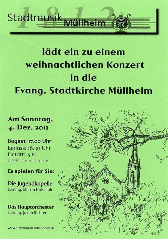 Weihnachtliches Konzert - Stadtkirche Müllheim
