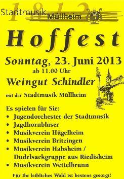 Hoffest im Weingut Schindler